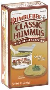 Bumble Bee Classic Hummus with Wheat Crackers