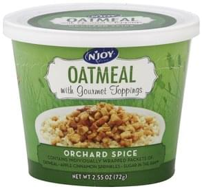 NJoy Oatmeal Orchard Spice