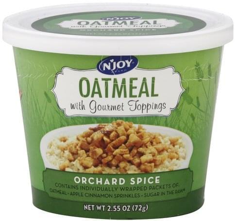 NJoy Orchard Spice Oatmeal - 2.55 oz