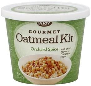 NJoy Oatmeal Kit Orchard Spice