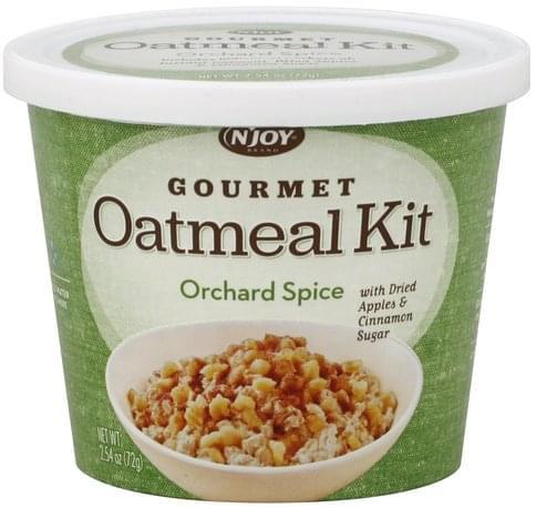 NJoy Orchard Spice Oatmeal Kit - 2.54 oz