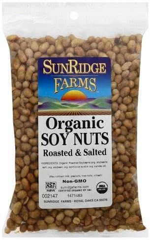 SunRidge Farms Organic Soy Nuts - 1 ea