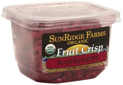 SunRidge Farms Raspberries Fruit Crisp - 1.5 oz