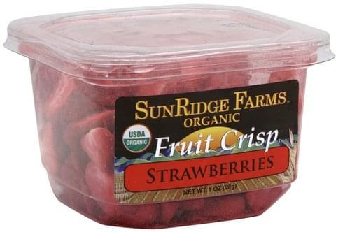 SunRidge Farms Strawberries Fruit Crisp - 1 oz