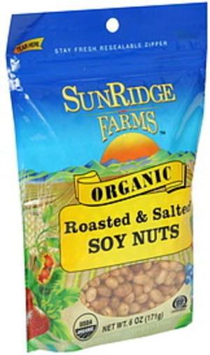 Sunridge Farms Roasted & Salted Soy Nuts - 6 oz