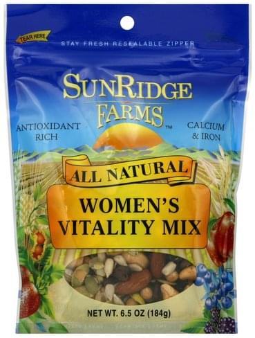 Sunridge Farms Women's Vitality Mix - 6.5 oz
