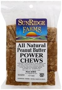 SunRidge Farms Power Chews Peanut Butter