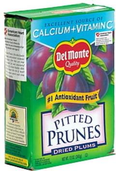 Del Monte Prunes, Pitted, Dried Plums