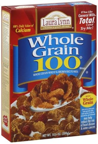 Laura Lynn Whole Grain 100 Cereal - 10.6 oz