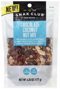 Snak Club Nut Mix Chocolate Coconut