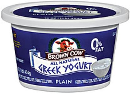Brown Cow Greek Yogurt All Natural Nonfat Plain