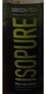 Isopure Green Tea Protein Drink
