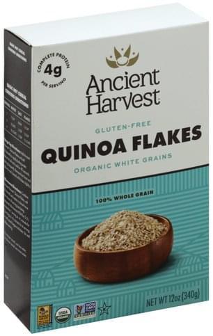 Ancient Harvest Gluten-Free, Organic, Whole Grain Quinoa Flakes - 12 oz