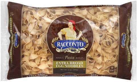 Racconto Extra Broad Egg Noodles - 12 oz