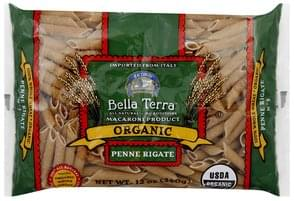 Bella Terra Penne Rigate Organic, 100% Whole Wheat