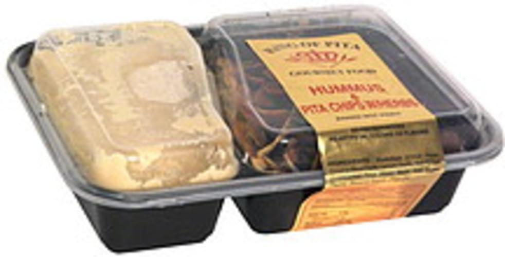 King of Pita Hummus & Pita Chips w/ Herbs - 1 ea