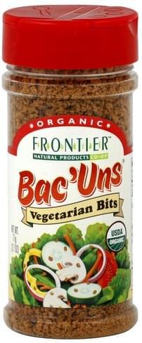 Frontier Vegetarian Bits Bac'uns - 2.7 oz
