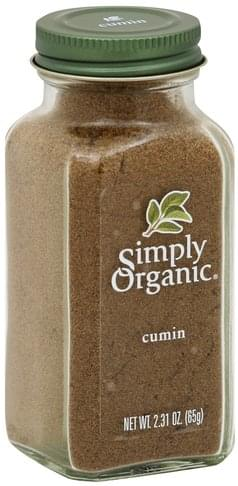 Simply Organic Ground Cumin Seed Cumin - 2.31 oz