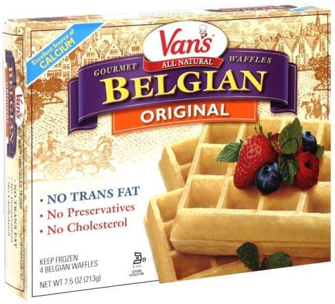 Vans Original Belgian Waffles - 4 ea