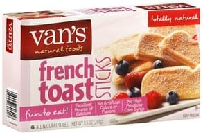 Vans French Toast Sticks