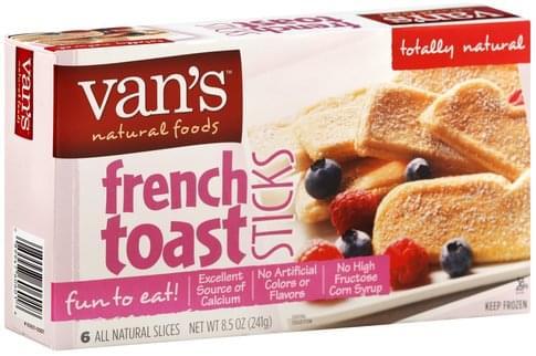 Vans French Toast Sticks - 6 ea