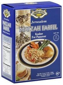 Em Ha Chita Matzah Farfel