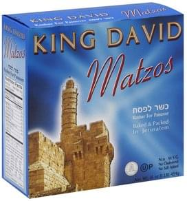 King David Matzos