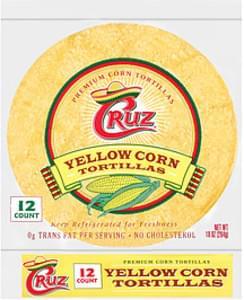 Cruz Tortillas Yellow Corn