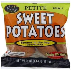 George Foods Sweet Potatoes Petite