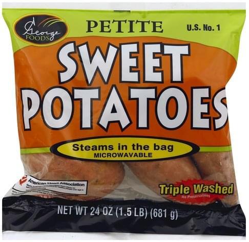 George Foods Petite Sweet Potatoes - 24 oz