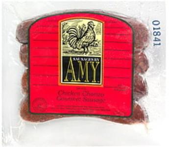 Sausages by Amy Chicken Chorizo Gourmet Sausage Smoked