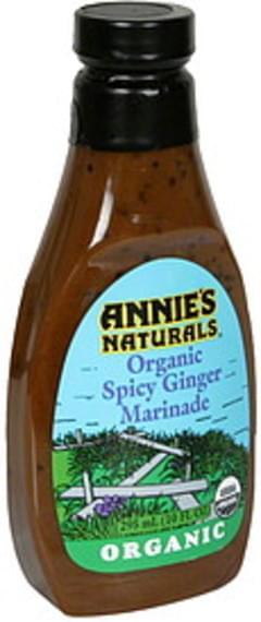 Annie's Naturals Marinade Organic, Spicy Ginger