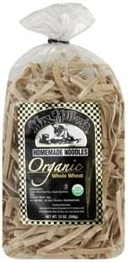 Mrs Millers Noodles Organic, Whole Wheat