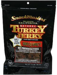 SnackMasters Turkey Jerky Hot & Spicy