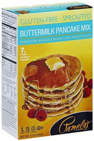 Pamelas Buttermilk Pancake Mix - 12 oz
