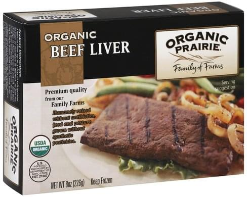 Organic Valley Organic Beef Liver - 8 oz