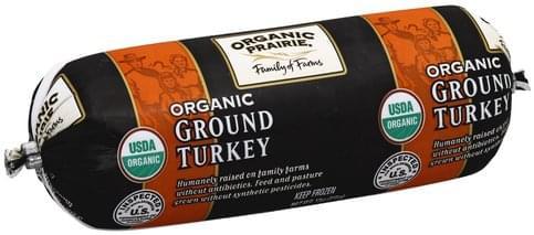 Organic Prairie Organic, Ground Turkey - 12 oz