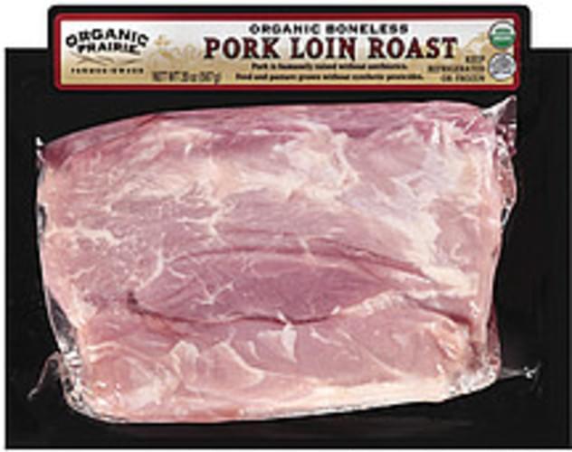 Organic Prairie Pork Loin Roast Boneless Fresh Pork - 20 oz
