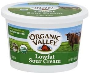 Organic Valley Sour Cream Low Fat