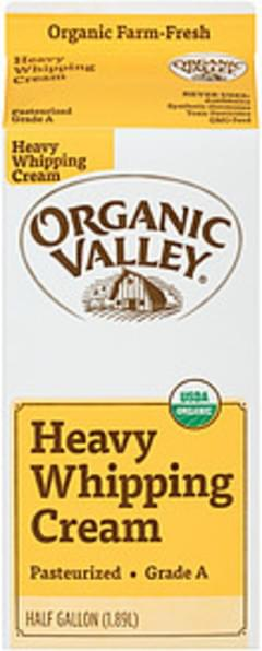 Organic Valley Whipping Cream Heavy