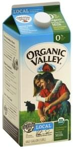 Organic Valley Milk Organic, Fat Free, 0% Milkfat