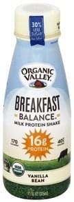 Organic Valley Milk Protein Shake Vanilla Bean