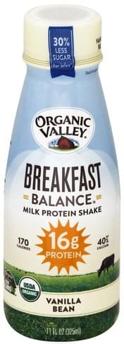 Organic Valley Vanilla Bean Milk Protein Shake - 11 oz