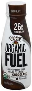 Organic Valley Milk Shake High Protein, Chocolate