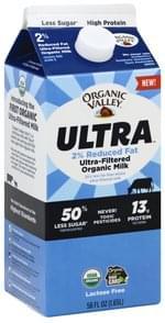 Organic Valley Milk Organic, Ultra-Filtered