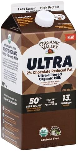 Organic Valley Ultra-Filtered, Organic, Chocolate Milk - 56 oz