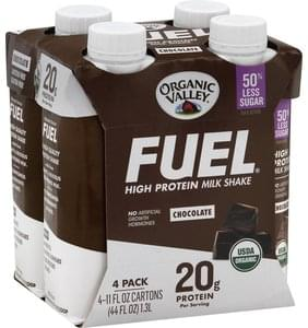 Fuel Milk Shake High Protein, Chocolate, 4 Pack