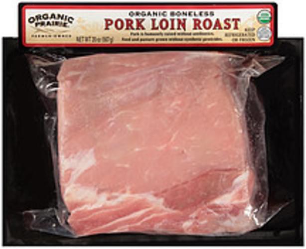 Organic Prairie Organic Boneless Pork Loin Roast - 20 oz