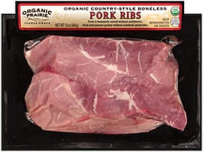 Organic Prairie Pork Ribs Organic Country-Style Boneless