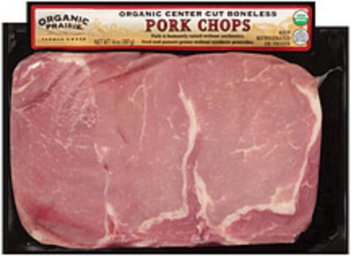 Organic Prairie Organic Center Cut Boneless Pork Chops - 14 oz